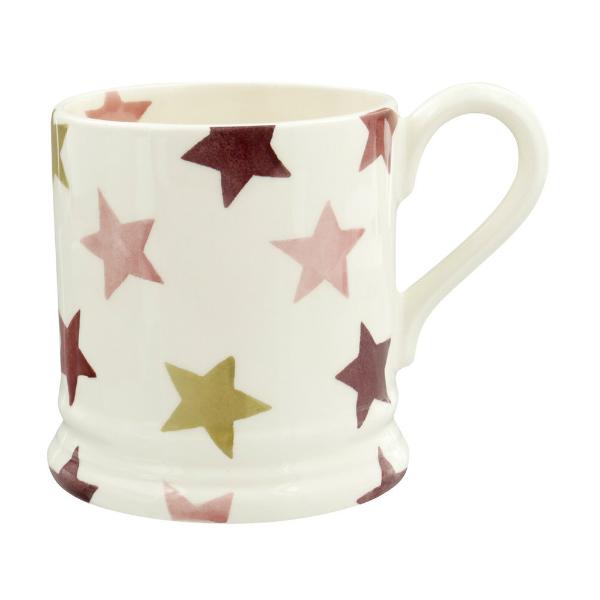 Emma-bridge-water-half-pint-mug-pink-and-gold-stars-1
