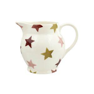 Emma-bridge-water-jug-pink-and-gold-stars-1