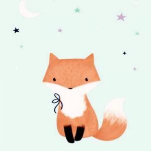 card-baby-fox