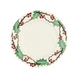 EMMA-BRIDGEWATER-WINTERBERRY-EIGHT-AND-A-HALF-INCH-PLATE