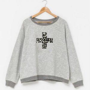 Stella-and-Gemma-grey-cross-sweater