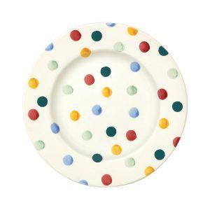 Emma-Bridgewater-eight-and-half-plate-Polka-Dot
