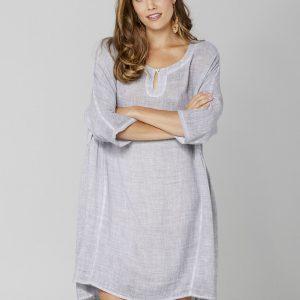 365-Days-Mist-Grey-Peasant-Dress