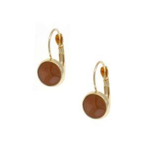 Light-Plum-French-Hook-Earring