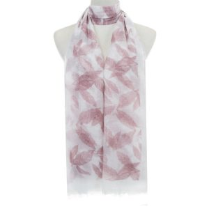 Scarf-Blush-Feathered-Leaves