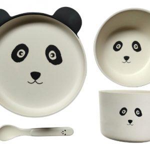 Bamboo-Ware-Panda-4pce-Set