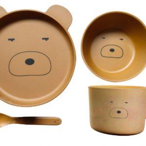 Bamboo-Ware-Teddy-4pce-Se