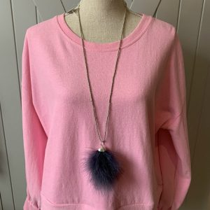 Dark-Grey-Feathers-Seed-Bead-Necklace