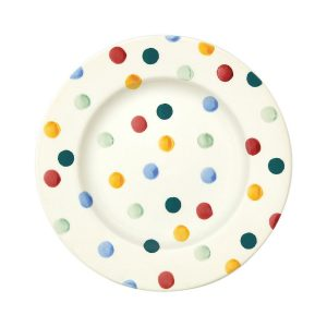 Emma-Bridgewater-Eight-And-Half-Inch-Plate-Polka-Dot