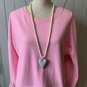 Grey-White-Turquoise-Beaded-Necklace