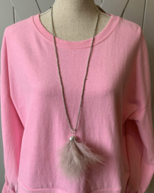 Soft-Pink-Feathers-Seed-Bead-Necklace
