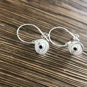 Sterling-Silver-Eye-Earring