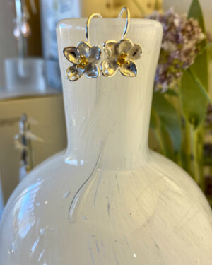 Sterling-Silver-Flower-With-Gold-Detail