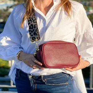 Zjoosh-Burgundy-Ruby-Sports-Cross-Body-Bag