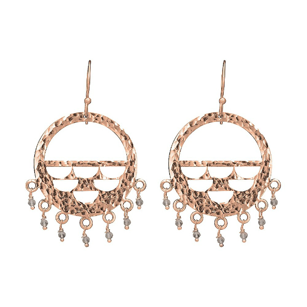 hammered-circle-with-crystal-rose-gold