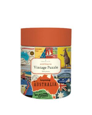 Cavallini-500-Pc-Puzzle-Australian-Collage