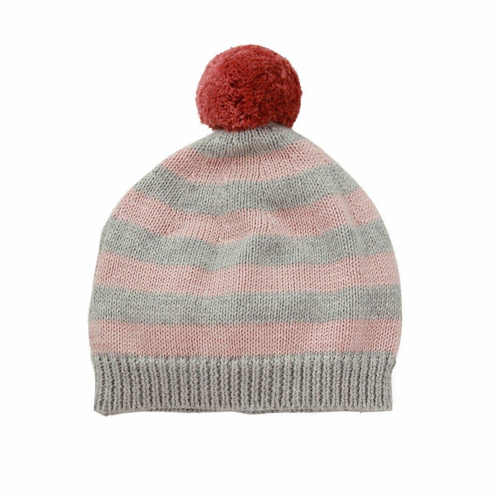 Dlux-Mason-Stripe-PomPom-Hat-Pink