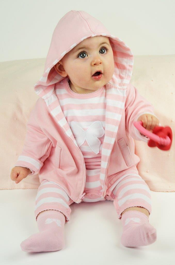 emotion-kids-pink-wide-stripe-bow-hoodie