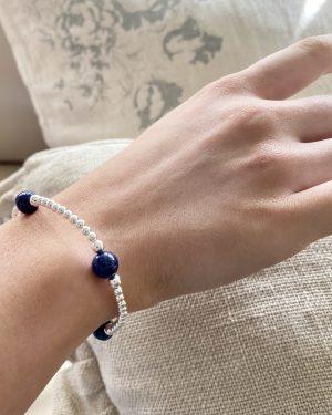 sterling-silver-lapis-ball-bracelet