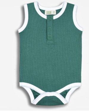 sapling-child-spruce-green-waffle-bodysuit
